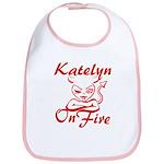 Katelyn On Fire Bib