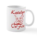 Katelyn On Fire Mug