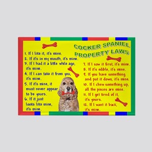 Property Laws -CockerSpaniel Magnets