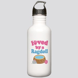 Loved By A Ragdoll Stainless Water Bottle 1.0L