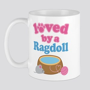 Loved By A Ragdoll Mug