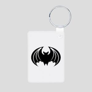 Bat Aluminum Photo Keychain