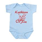 Kathleen On Fire Infant Bodysuit