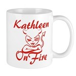 Kathleen On Fire Mug
