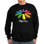 flop flop with text Sweatshirt (dark)