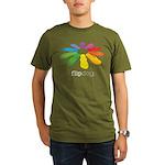 flop flop Organic Men's T-Shirt (dark)