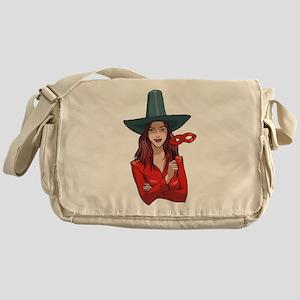 Witch Messenger Bag