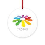 flop flop Ornament (Round)
