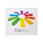 flop flop Throw Blanket
