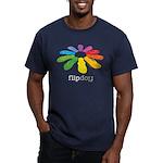 flop flop Men's Fitted T-Shirt (dark)