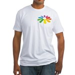 flop flop 2 sided Fitted T-Shirt