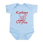 Kathryn On Fire Infant Bodysuit