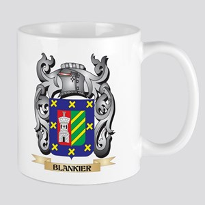 Blankier Family Crest - Blankier Coat of Arms Mugs