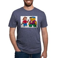 BoooMooo Mens Tri-blend T-Shirt