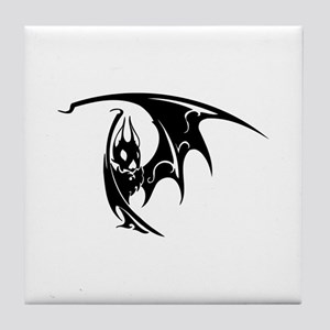 Bat Tile Coaster