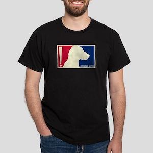 Vizsla Tricolor USA Black T-Shirt