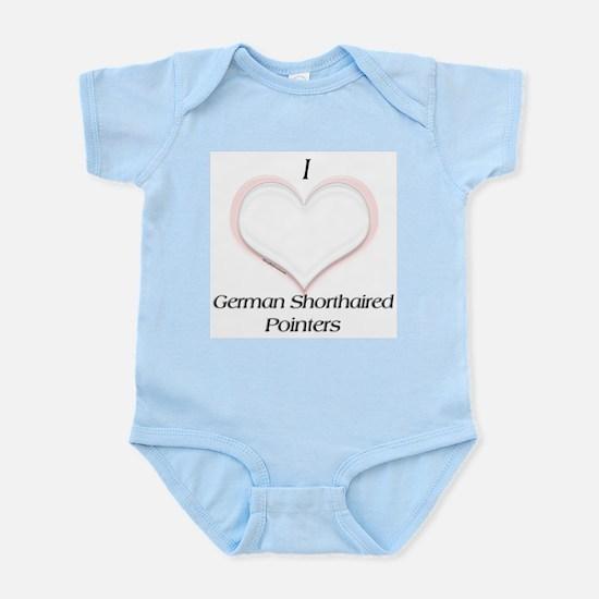 GSP Heart Infant Creeper