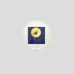 Witch Mini Button