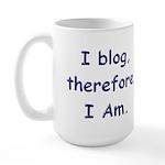 I blog Large Mug