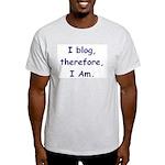 I blog Ash Grey T-Shirt
