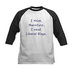 Liberal Blogs Kids Baseball Jersey