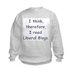 Liberal Blogs Kids Sweatshirt