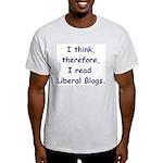 Liberal Blogs Ash Grey T-Shirt