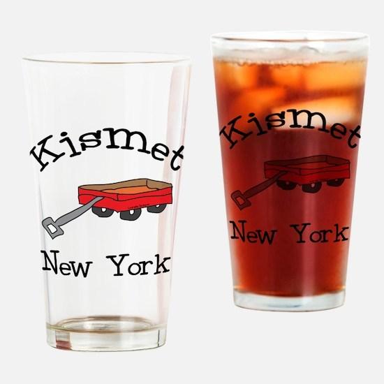 Kismet New York Drinking Glass