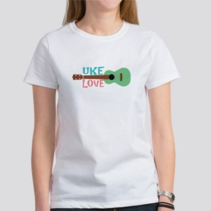 Uke Love Women's T-Shirt