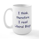 Liberal Blogs Large Mug