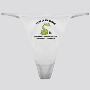 Funny Year of The Snake Classic Thong
