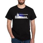 Imagine No Religion Twin Towers Dark T-Shirt