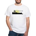 Imagine No Religion Twin Towers White T-Shirt