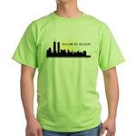Imagine No Religion Twin Towers Green T-Shirt