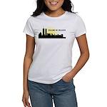 Imagine No Religion Twin Towers Women's T-Shirt