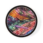 crochet afghan Wall Clock