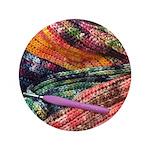 crochet afghan Button