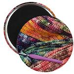 crochet afghan Magnets