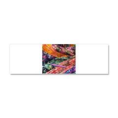 crochet afghan Car Magnet 10 x 3