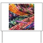 crochet afghan Yard Sign