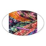 crochet afghan Sticker