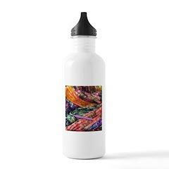 crochet afghan Water Bottle