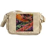crochet afghan Messenger Bag