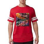 crochet afghan Mens Football Shirt