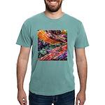 crochet afghan Mens Comfort Colors Shirt