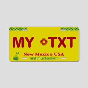 New Mexico USA - Land of Enchantment Plate