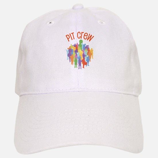 Pit Crew Band Collage Baseball Baseball Cap