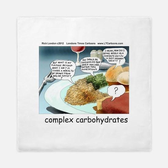 Way Too Complex Carbohydrates Queen Duvet