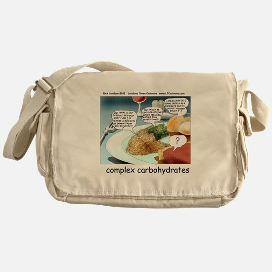 Way Too Complex Carbohydrates Messenger Bag