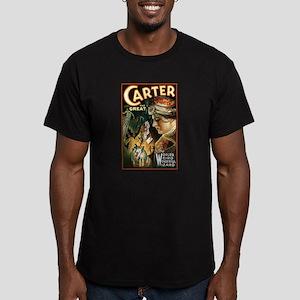 Vintage Magician Carter Men's Fitted T-Shirt (dark